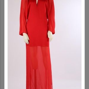 BCBGMaxAzria Dresses - Bcbgmaxazria beautiful red dress/XS/